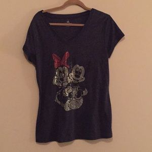 Minnie and Mickey Mouse Disney t-shirt in XL